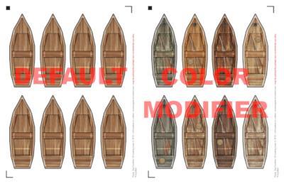 Color modifiers sample