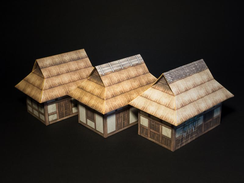 Variations of the farm house