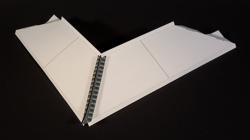 assembled roof (white version for visibility)