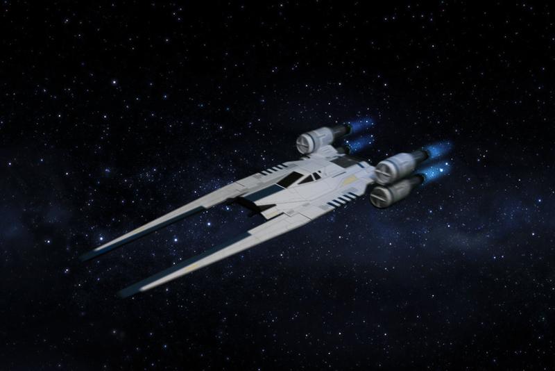U-Wing paper model