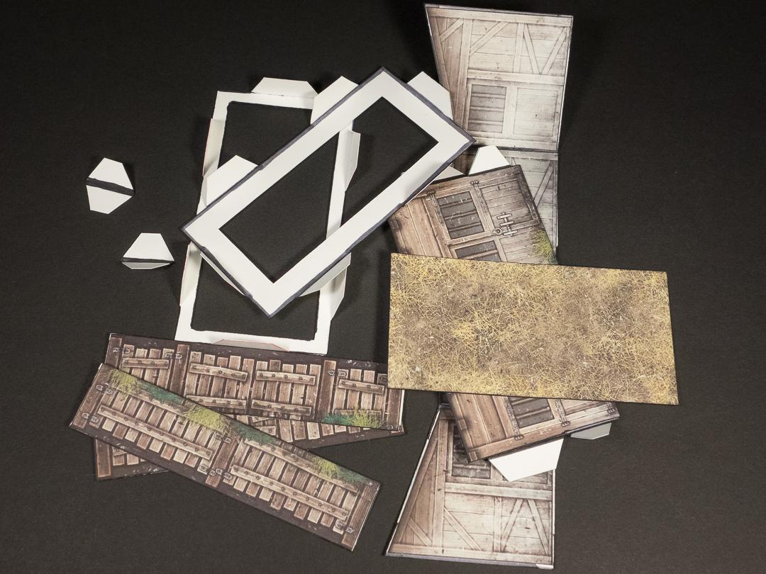 fold flat option (disassembled)