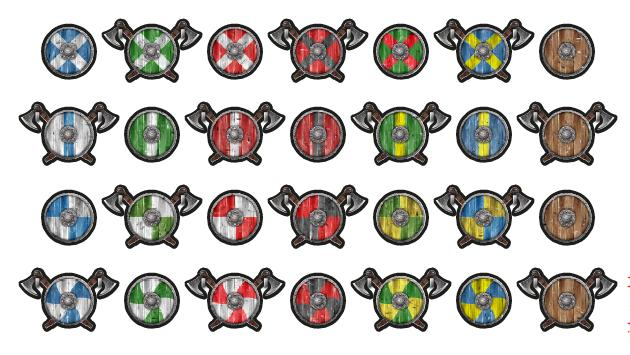 2020 10 Norse Shields and Weapons