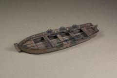 Jolly Boat (old dark wood version)