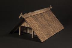 Wooden shingle roof option