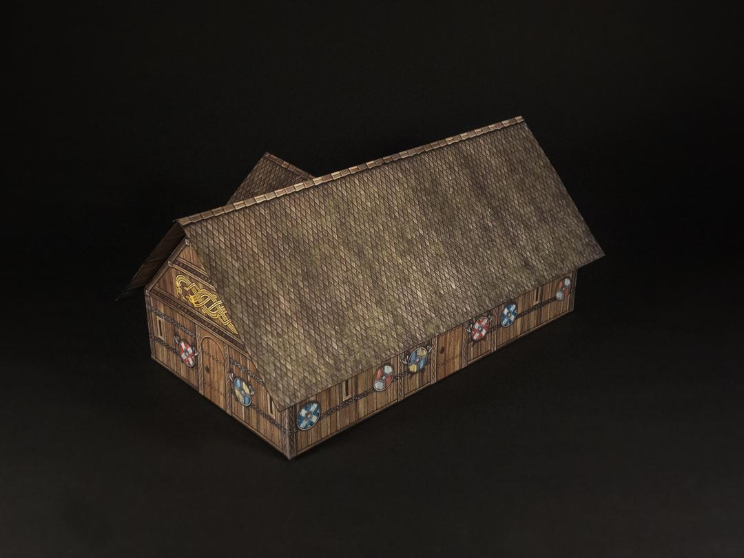 Wood shingle roof option