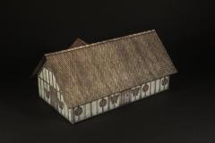 Saxon walls and wood roof