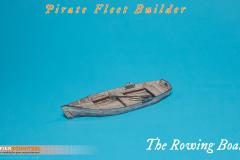 "4""/10cm Rowing Boat"