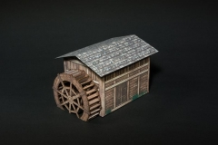 Making a water mill