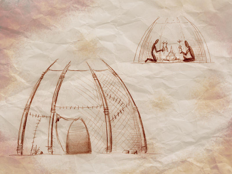simple orc hut