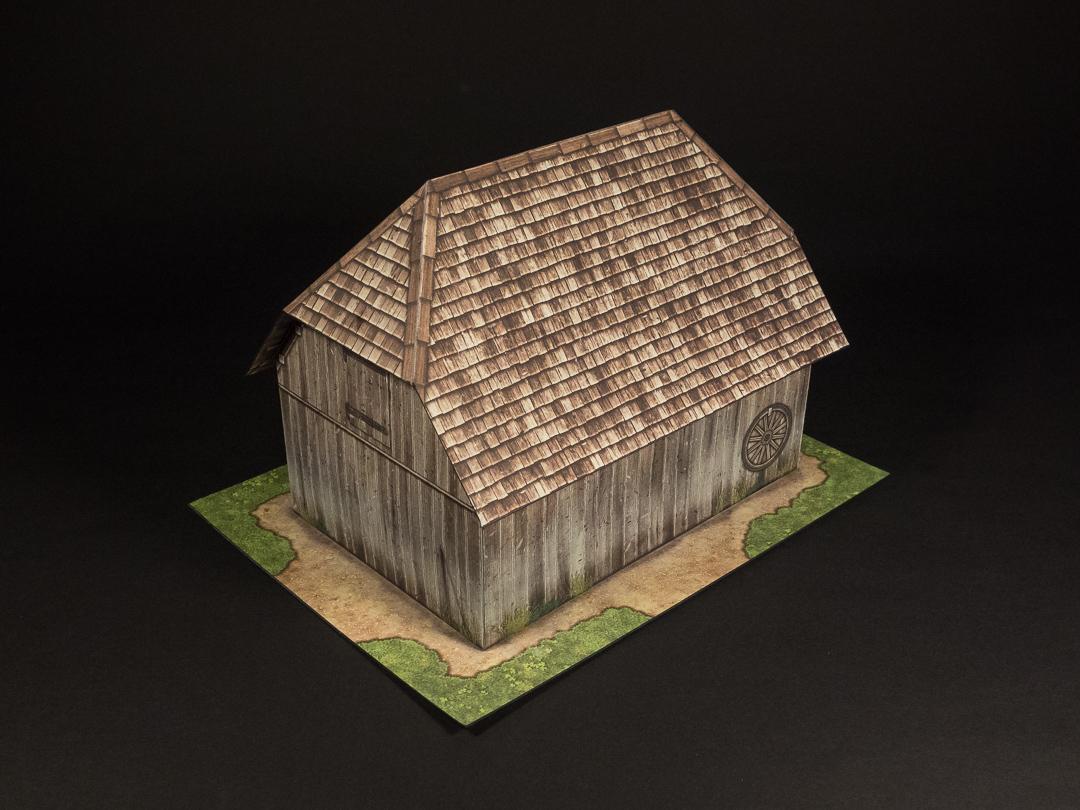 wood wall version