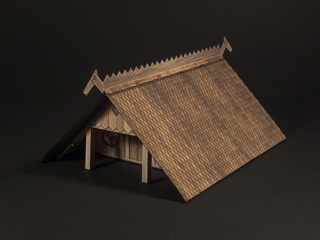 wooden roof option